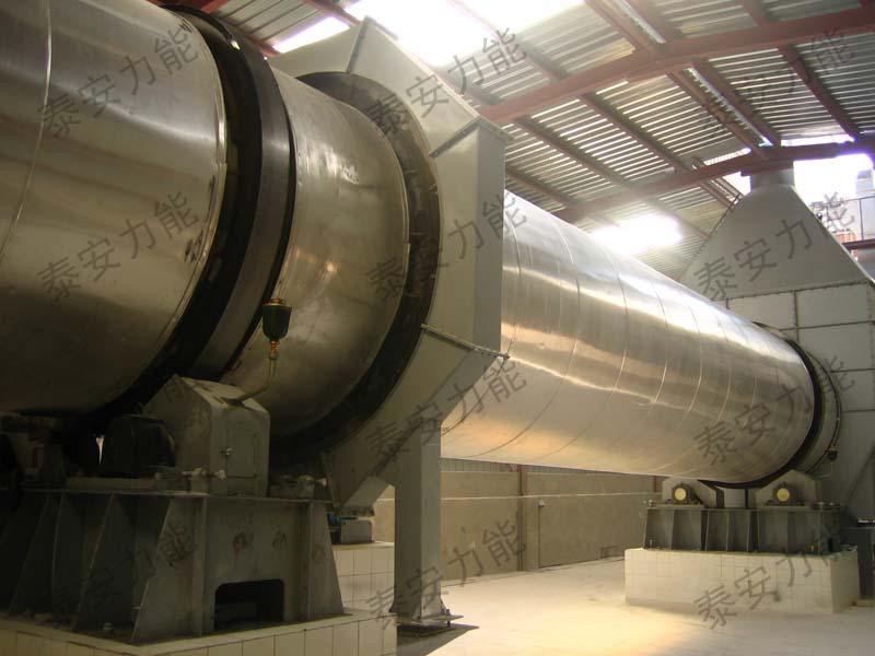 平凉脱硫石膏烘干煅烧生产线
