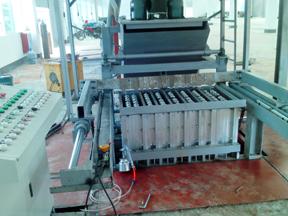 小型石膏砌块机