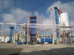 新疆天然建筑石膏生产线