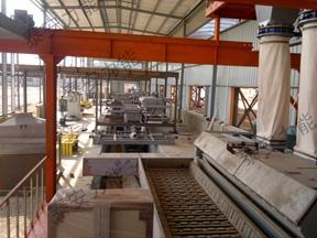 全自动石膏砌块生产线如何让磷石膏变废为宝