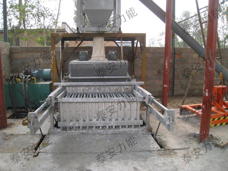 石膏砌块成型机